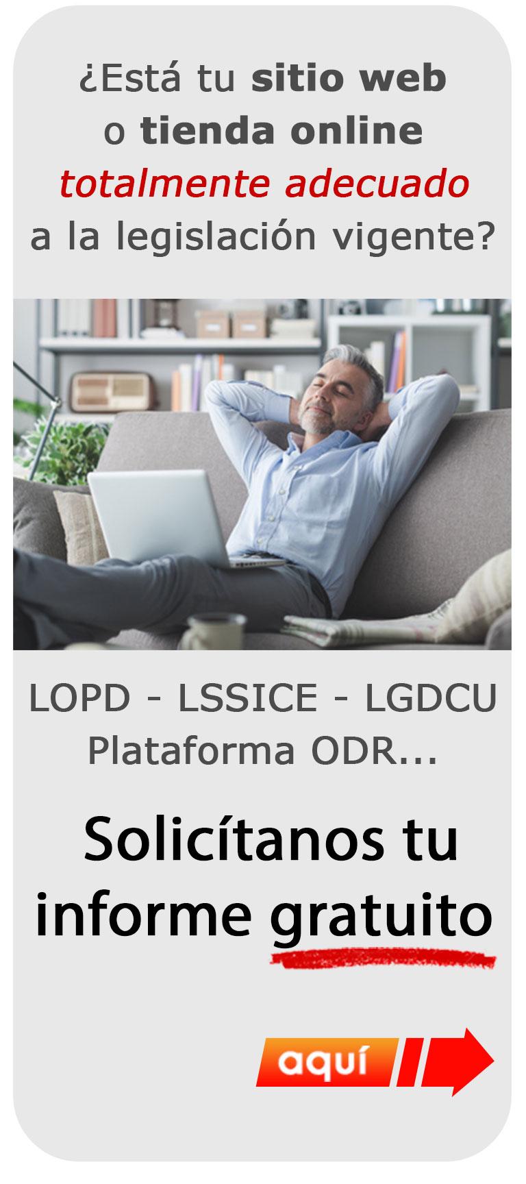 Asesoría legal web - Informe gratuito